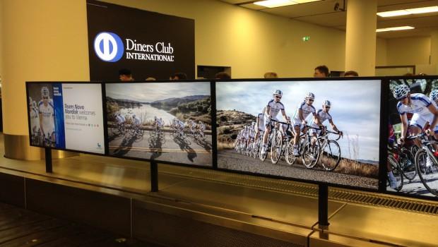EASD Werbung am Airport